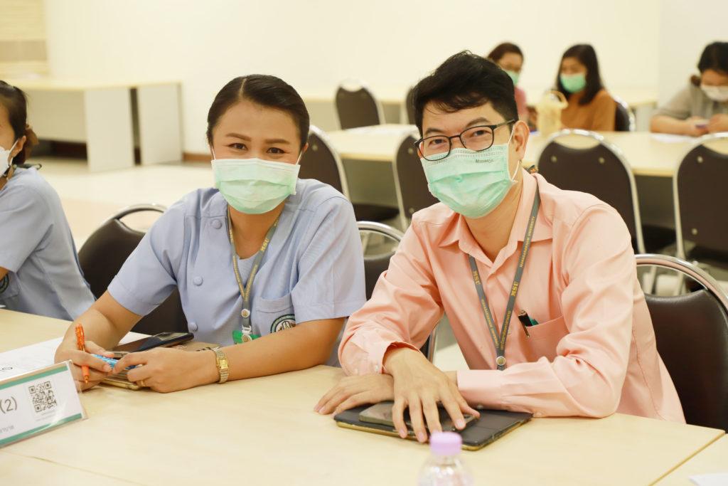 """โครงการสัมมนาเชิงปฏิบัติการ เรื่อง """"การทบทวนแผนกลยุทธ์โรงพยาบาลสุทธาเวช พ.ศ.2564 – 2565 ระยะ 2 ปี (วันที่ 1)"""